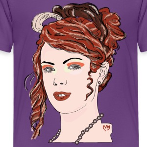 curly girl - T-shirt Premium Ado