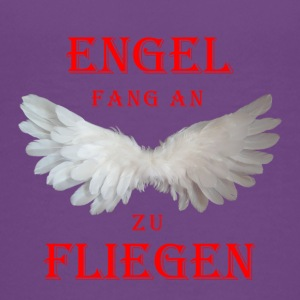 Engel fang an zu Fliegen (rot) - Teenager Premium T-Shirt