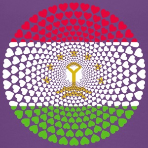 Tajikistan Tadschikistan Тоҷикистон Love Mandala - Teenager Premium T-Shirt