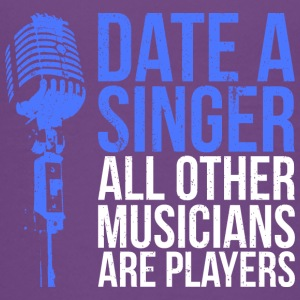 Date a Singer - music - Teenage Premium T-Shirt