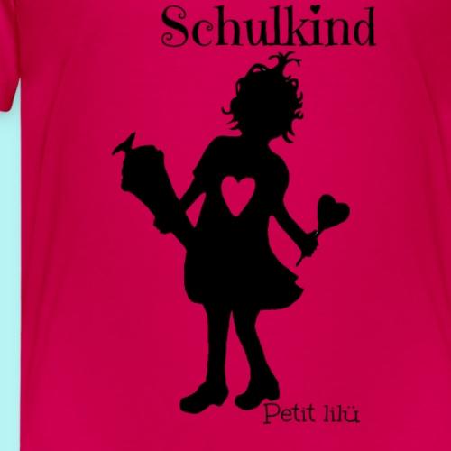 Petit lilü`s ~ Schulkind~ - Teenager Premium T-Shirt