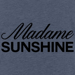 Mrs. sunshine - Teenage Premium T-Shirt