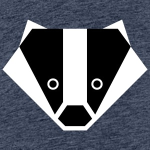 Badger Senior - Premium-T-shirt tonåring