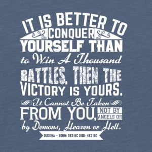 Conquer Yourself - Teenager premium T-shirt