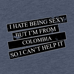 Motive for cities and countries - COLOMBIA - Teenage Premium T-Shirt