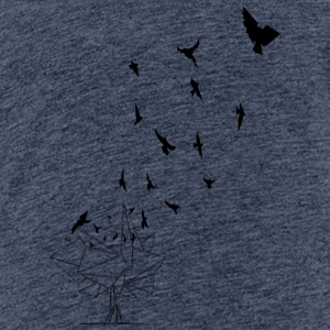 Fåglarna {The Birds} - Premium-T-shirt tonåring