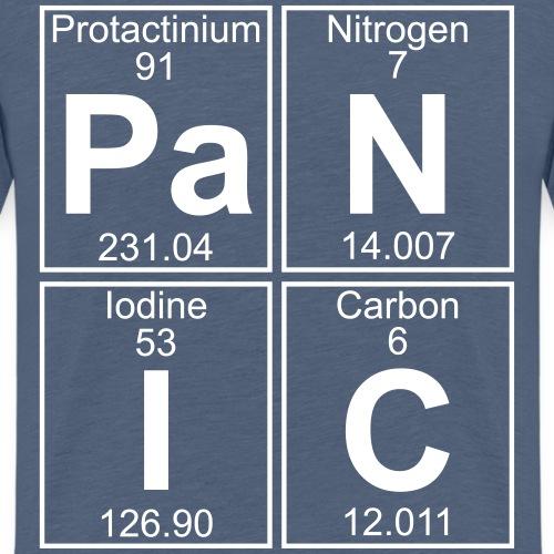 Pa-N-I-C (panic) - Full - Teenage Premium T-Shirt