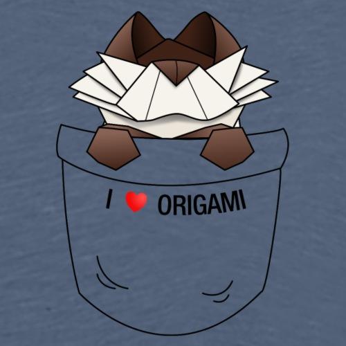 Pochette Chat - I Love Origami