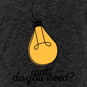 Elektriker: Watt do you need? - Teenager Premium T-Shirt