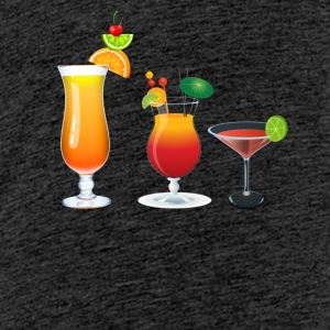 Summertime Cocktails! - Teenage Premium T-Shirt
