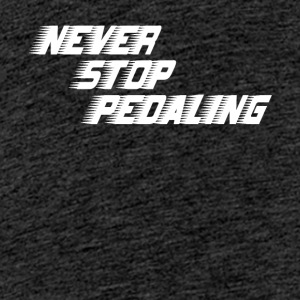 NEVER STOP - Teenager Premium T-Shirt