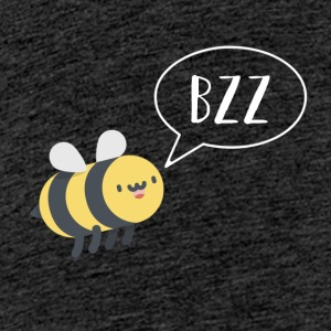 Bee - Bzz - funny - funny - Nature - Summer - Teenager Premium T-shirt