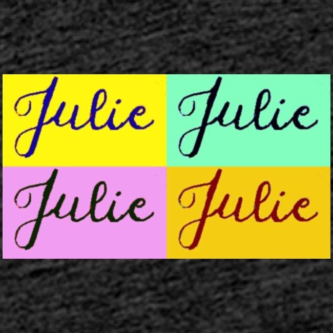 Julie Pop art