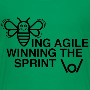BEING AGILE WINNING THE SPRINT - Teenager Premium T-Shirt