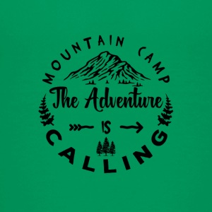 Mountain Camp The Adventure is Calling - Teenager Premium T-Shirt