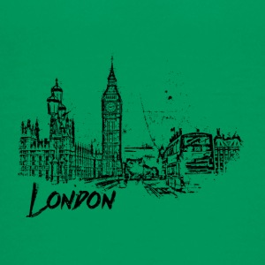 London cityscape sketch - Teenage Premium T-Shirt