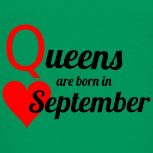 September Queen - Teenage Premium T-Shirt