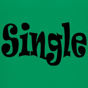 Single Black - Teenage Premium T-Shirt