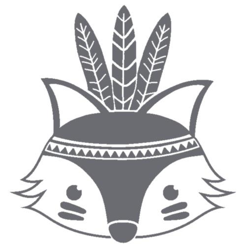 Indianen vos - Baby bio-rompertje met lange mouwen