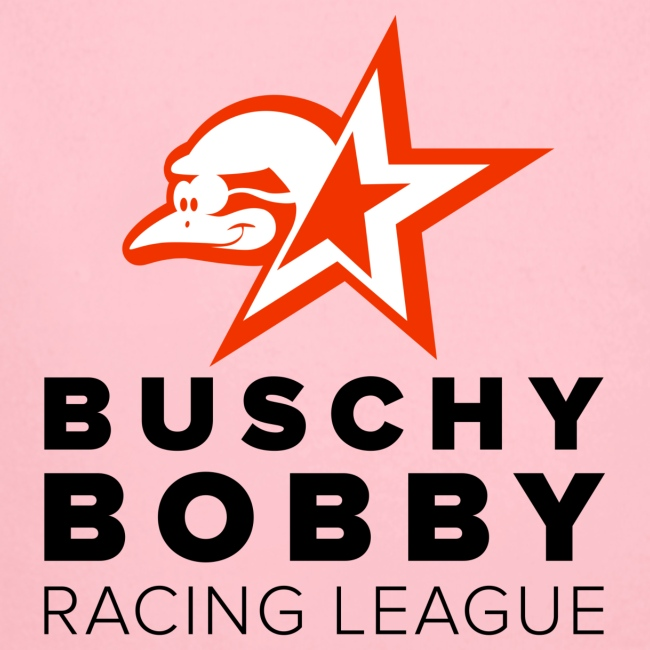 Buschy Bobby Racing League on white
