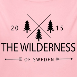 The Wilderness Of Sweden - Body bébé bio manches longues