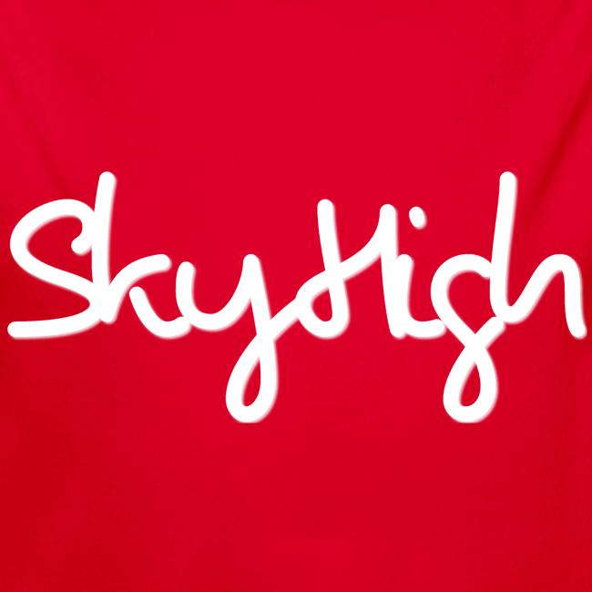 SkyHigh - Men's Premium T-Shirt - White Lettering