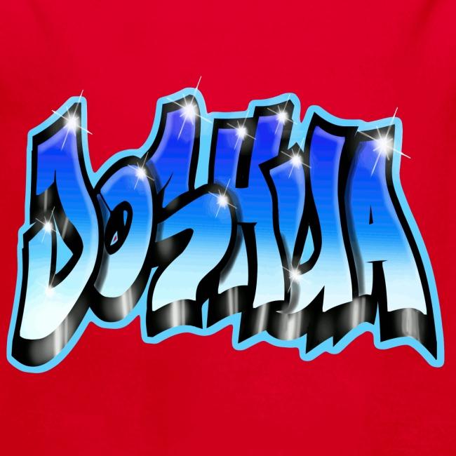 GRAFFITI JOSHUA PRINTABLE BLUE