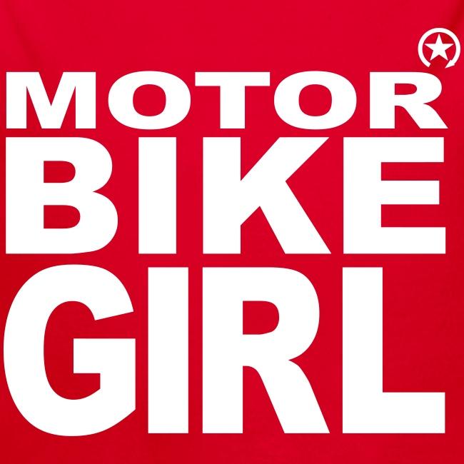 Dziewczyna motocykl