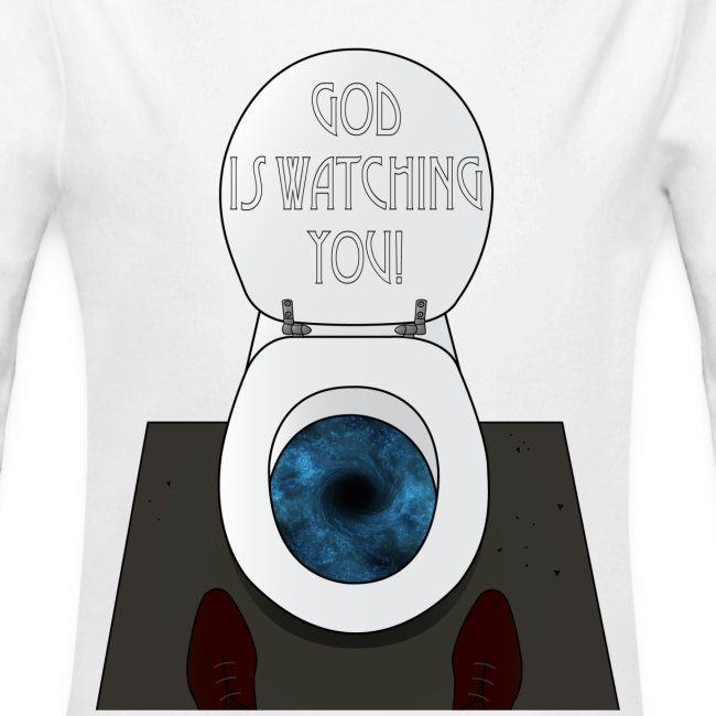 God is watching you!
