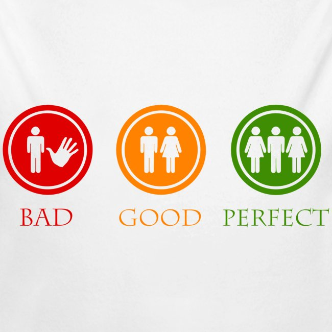 Bad good perfect - Threesome (adult humor)
