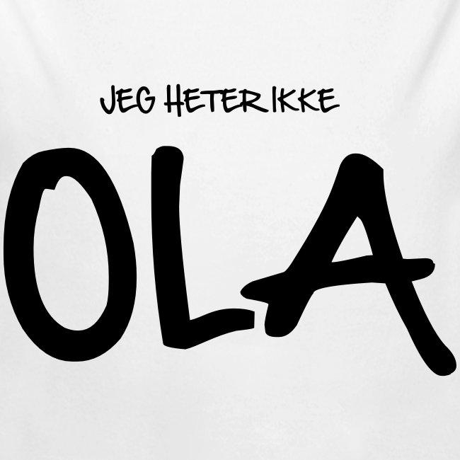 Jeg heter ikke Ola (fra Det norske plagg)