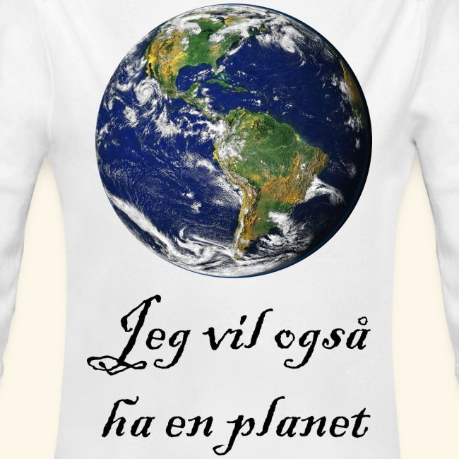 I also want a planet