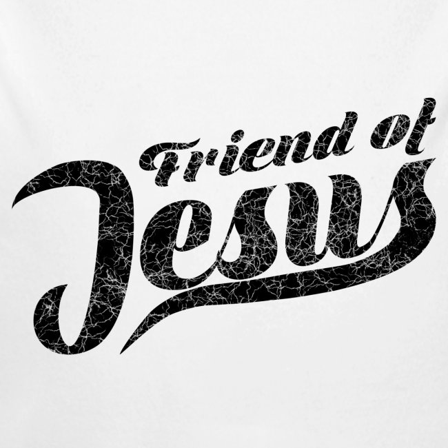 Friend of Jesus schwarz
