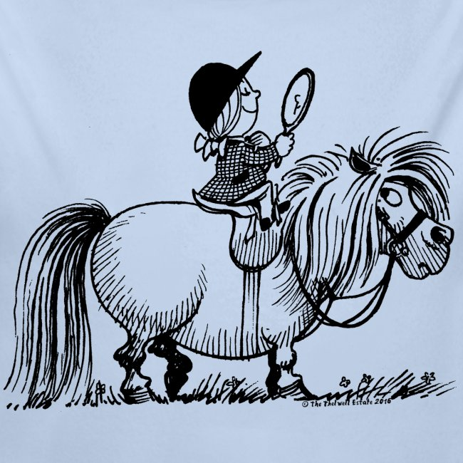 Thelwell - Penelope with a mirror