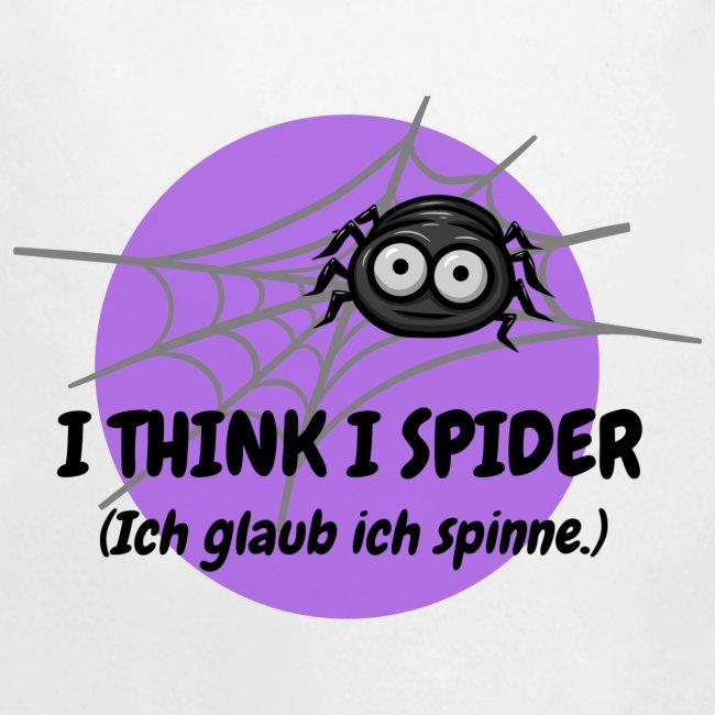 I think I spider!