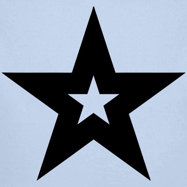 Cool black magic star