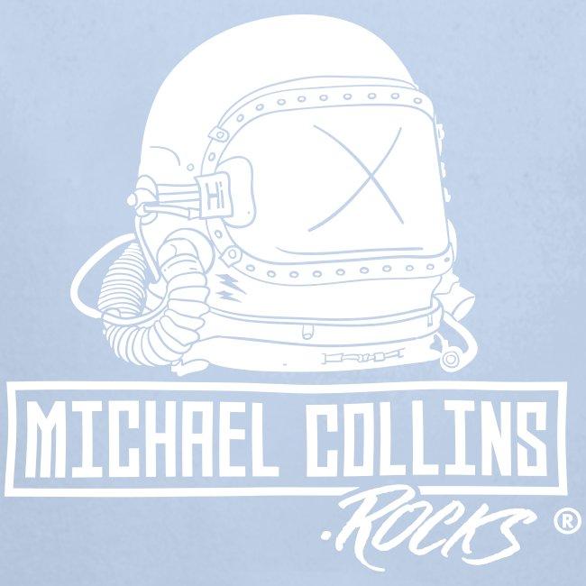 michaelcollins.rocks Logo Astronaut