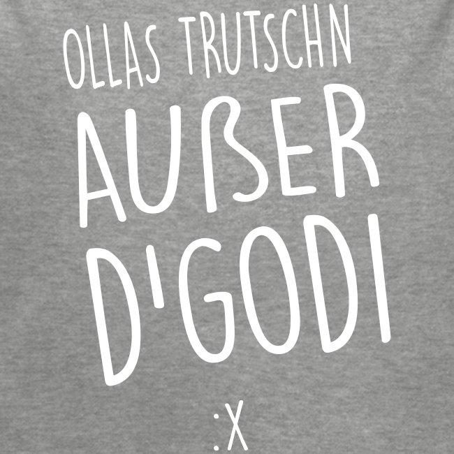Vorschau: Ollas Trutschn außer d Godi - Baby Bio-Langarm-Body