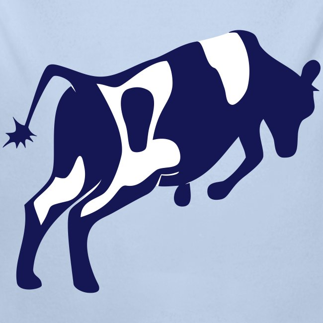 Springende koe vector