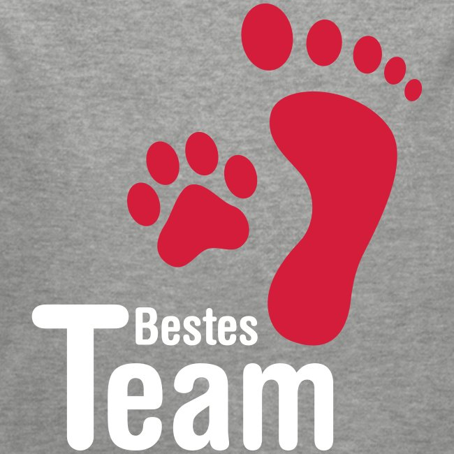 Bestes TEAM - Baby Bio-Langarm-Body