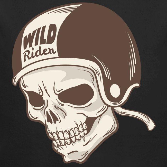 Helmet Skull Wild Rider