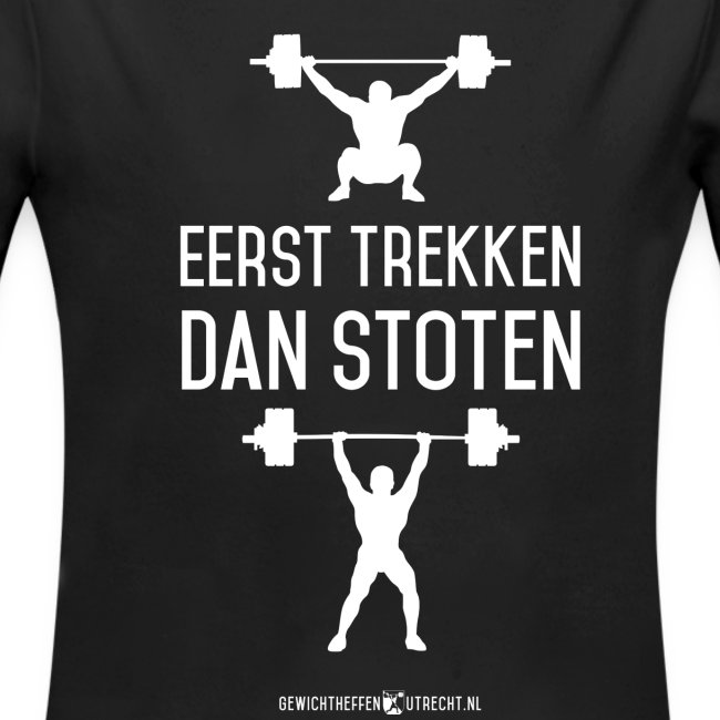 Gewichtheffen Utrecht Trekken Stoten Shirt