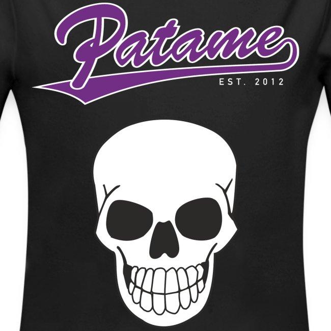 Patame Purple White Skull