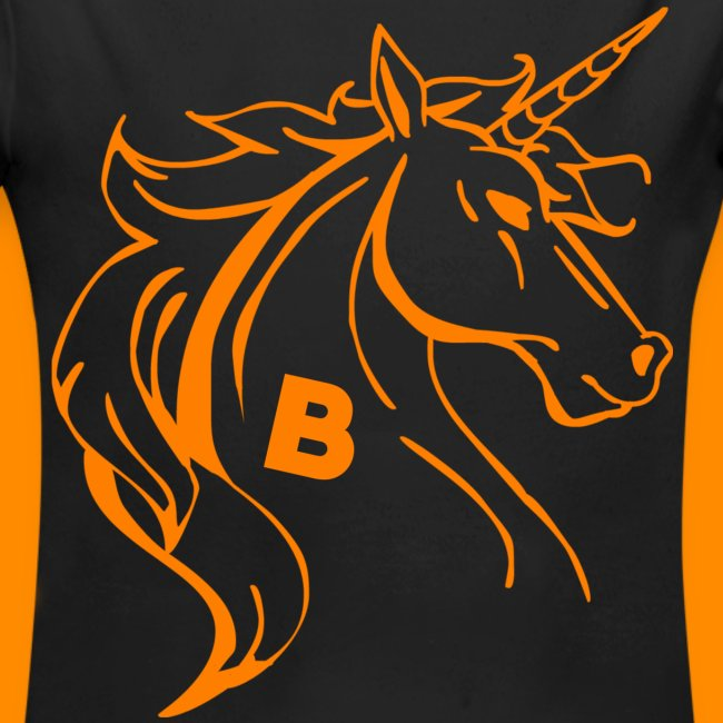 orange biodusty unicorn shirt