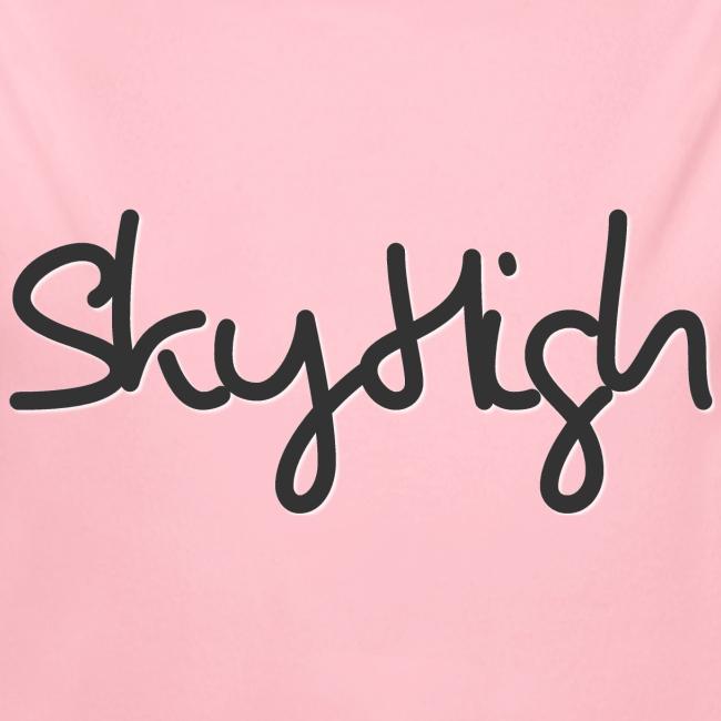 SkyHigh - Women's Premium T-Shirt - Black Lettering