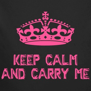 keep calm and carry me - Longlseeve Baby Bodysuit