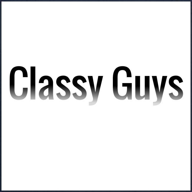 Classy Guys Simple Name