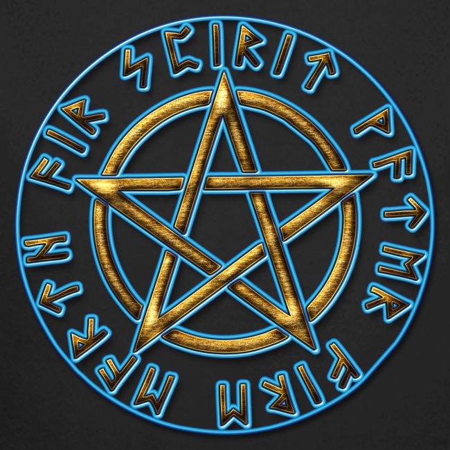 Runen Pentagramm Elemente Schutz Amulett Magie