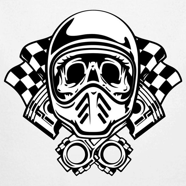 Racing Skull Helmet