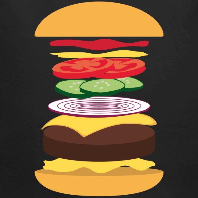 Exploded Burger